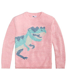 Epic Threads Big Girls Graphic Sweater, Created for Macy's