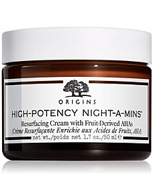 Origins High-Potency Night-A-Mins Resurfacing Cream, 1.7-oz.