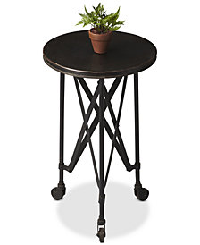 Metalworks Accent Table, Quick Ship