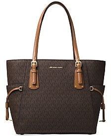 MICHAEL Michael Kors Voyager East West Signature Tote