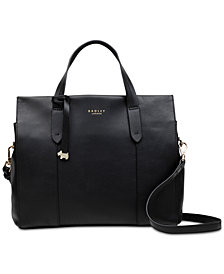 Radley London Open Top Leather Grab Bag