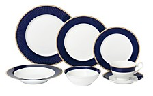 Midnight 28-Pc. Dinnerware Set, Service for 4
