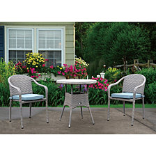 Courtyard Casual Terrace 3 Piece Bistro Set