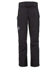 Black Diamond Women's Recon Stretch Ski Pants from Eastern Mountain Sports