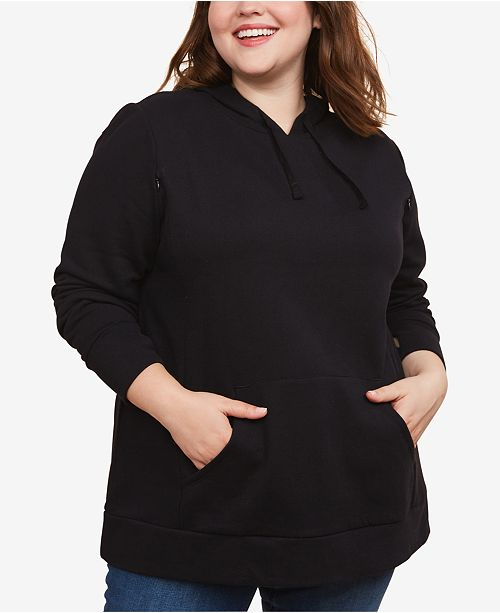 Motherhood Maternity Plus Size Nursing Sweatshirt