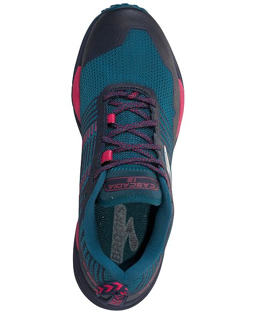 e39cf7ac514ec ... Brooks Women s Cascadia 13 Trail Running Sneakers from Finish Line ...