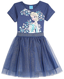 Disney Little Girls 2-Pc. Frozen Dress & Skirt Set