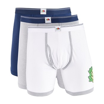 3-Pack Fruit of The Loom Men's Limited Edition Boxer Briefs