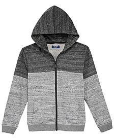 Univibe Big Boys Clark Marled Zip-Up Hoodie