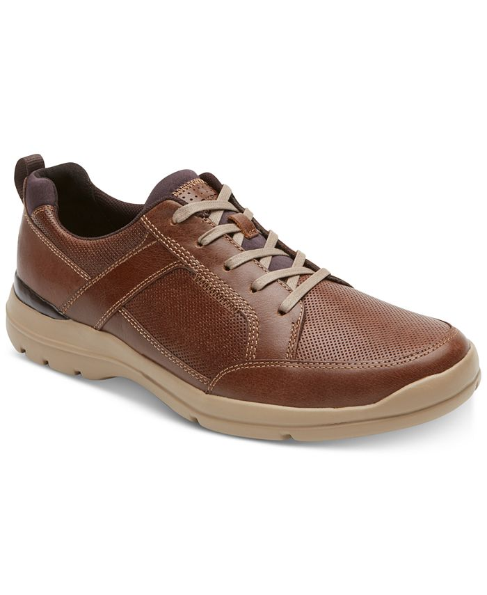 Rockport - Men's City Edge Leather Sneakers