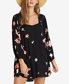 Billabong Juniors' Floral-Print Mini Dress