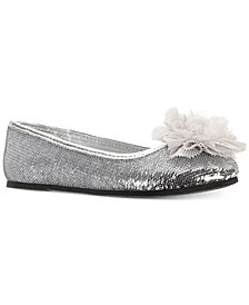 Nina Little & Big Girls Star Sequin Flats