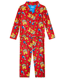 Mario Bros. Big Boys 2-Pc. Super Mario Printed Pajama Set