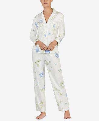 Petite Printed Pajama Set