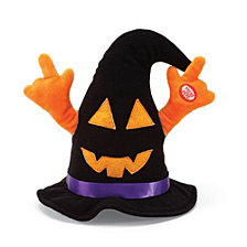 CLOSEOUT! Enesco Halloween Dancing Witch Hat