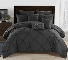 Chic Home Hannah 8 Piece Twin Bed In a Bag Comforter Set
