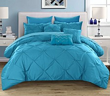 Hannah 10 Piece King Comforter Set