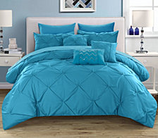 Chic Home Hannah 10 Piece King Comforter Set