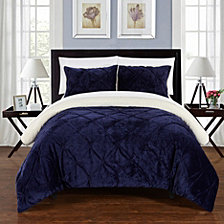 Chic Home Josepha 7 Piece Queen Bed In a Bag Comforter Set