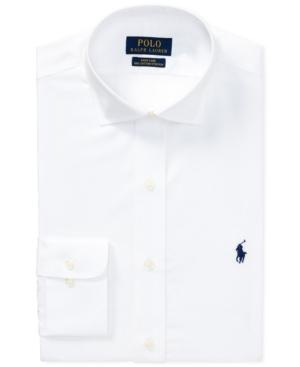 Polo Ralph Lauren Dresses LAUREN RALPH LAUREN MEN'S CLASSIC FIT COTTON DRESS SHIRT