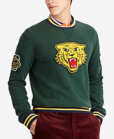 Polo Ralph Lauren Men's Fleece Varsity Wildcat Patch Sweatshirt