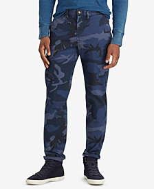 Polo Ralph Lauren Men's Camouflage Straight Fit Chino Pants