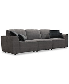 "Amboise 107"" 3-Pc. Fabric Sectional Sofa, Created for Macy's"