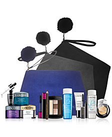 Customize your FREE 7-Pc. gift with any $37.50 Lancôme purchase, a $126 Value!