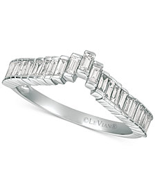 Le Vian® Baguette Frenzy™ Diamond Ring (1/2 ct. t.w.) in 14k White Gold