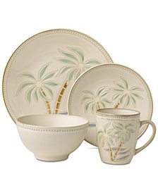 Pfaltzgraff Palm 16-Pc. Dinnerware Set, Service for 4