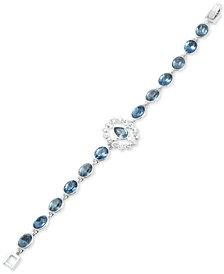 Givenchy Crystal & Stone Flex Bracelet