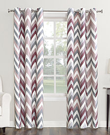 Sun Zero Cade Thermal Lined Grommet Curtain Panel Collection