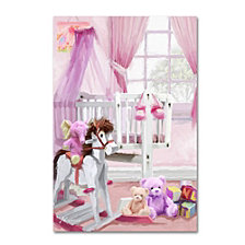 The Macneil Studio 'Baby Girl's Cot' Canvas Art Collection