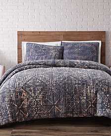 Brooklyn Loom Sand Washed Cotton Twin XL Duvet Set