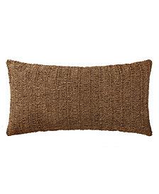"""Oceanfront Resort Indienne Paisley Raffia 16"""" x 32"""" Bolster Pillow"""