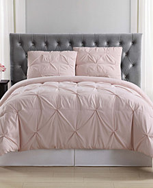 Truly Soft Pleated King Comforter Set