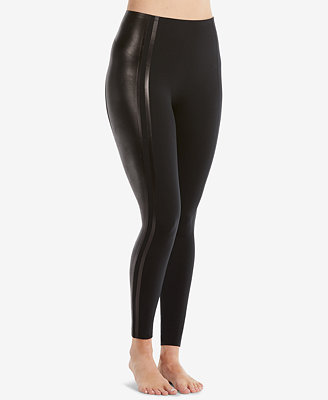 Glossy Side Stripe Leggings by Spanx