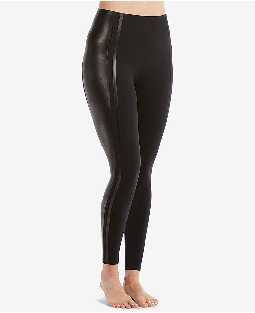 7f1d29f2a5053 SPANX Glossy Side-Stripe Leggings & Reviews - Handbags & Accessories ...