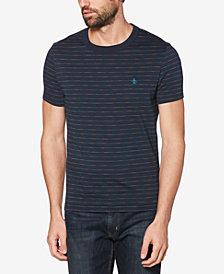 Original Penguin Men's Space-Dyed Stripe T-Shirt