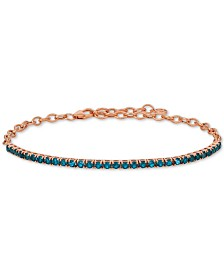 Le Vian® Rhodolite Garnet (3 ct. t.w.) Bracelet in 14k Rose Gold (Also Available in Blue Topaz)