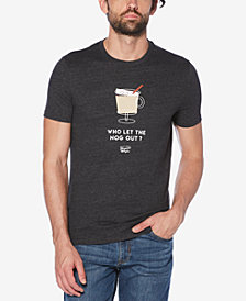 Original Penguin Men's Egg Nog Graphic T-Shirt
