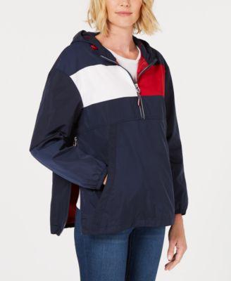 Colorblock Pullover Raincoat