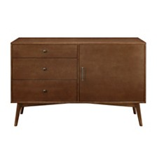 "52"" Mid-Century TV Console - Walnut"