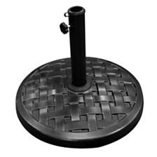 Round Umbrella Base - Black