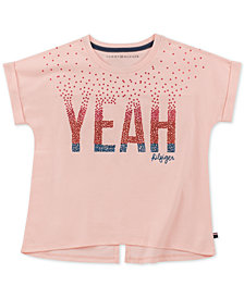 Tommy Hilfiger Big Girls Cotton Star-Print T-Shirt