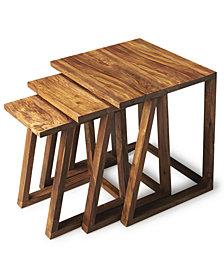 Mira 3-Pc. Nesting Table, Quick Ship