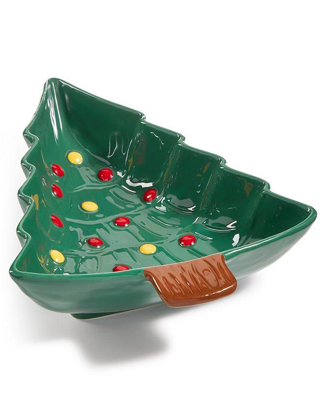 Martha Stewart Collection Martha Stewart Tree Bowl, Created for Macy's