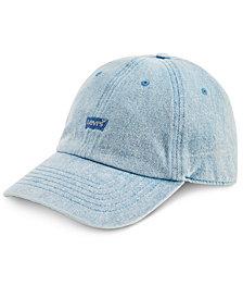 Levi's® Men's Denim Enzyme Wash Baseball Cap