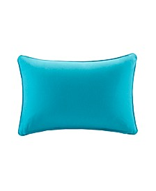 "Pacifica 14"" x 20"" Solid 3M Scotchgard Outdoor Oblong Pillow"