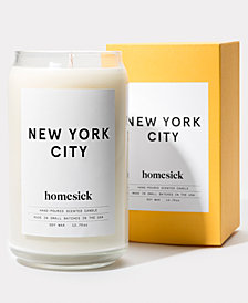 Homesick New York City Candle